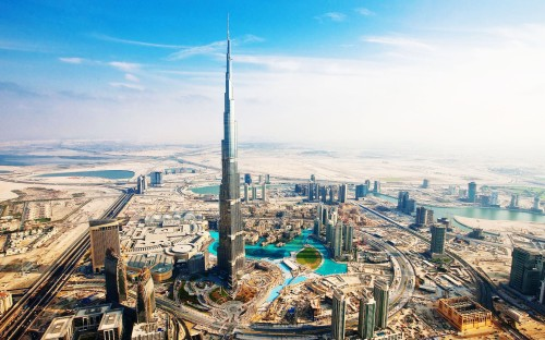 Burj-Khalifa-Dubai-UAE-Tallest-Building-Surrounging-WallpapersByte-com-3840x2400